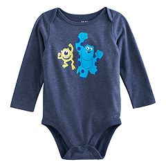 Disney / Pixar Monsters Inc. Baby Boy Mike & Sully Bodysuit by Jumping Beans®