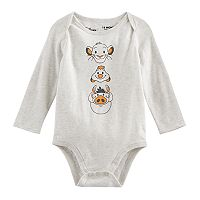 Disney's The Lion King Baby Boy Simba, Timon & Pumba Bodysuit by Jumping Beans®
