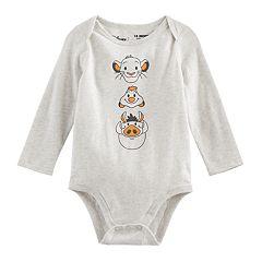 Disney's The Lion King Baby Boy Simba, Timon & Pumba Bodysuit by Jumping Beans®