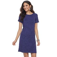 Women's Apt. 9® Cuffed T-Shirt Dress