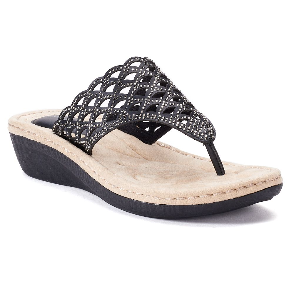 59e2adec8 Croft   Barrow® Chainmail Women s Sandals