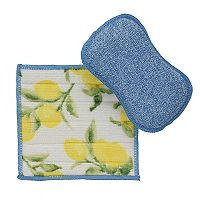 Food Network™ Microfiber Sponge & Dishcloth Set