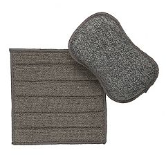 Food Network™ Microfiber Sponge & Dishcloth Set