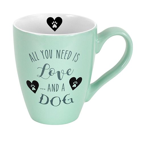 Enchante Love And A Dog Mug