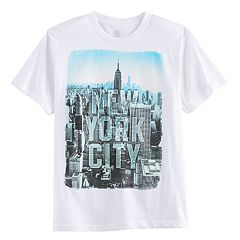 Boys 8-20 New York City Tee