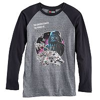 Boys 8-20 Star Wars Lego Raglan Tee