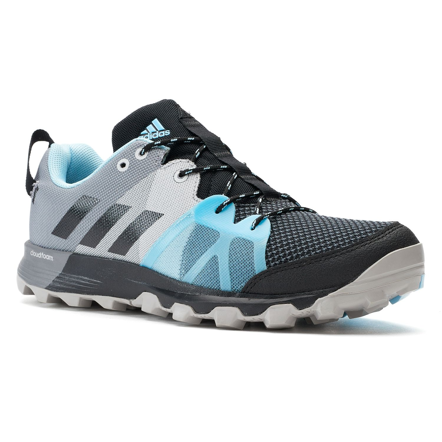 adidas Outdoor Kanadia 8.1 Trail Women\u0027s Trail Running Shoes. Black Blue ...