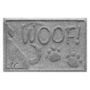WaterGuard Wag the Dog ''Woof'' Indoor Outdoor Pet Mat - 18'' x 28''