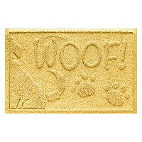 WaterGuard Wag the Dog ''Woof'' Indoor Outdoor Pet Mat - 18'' x 28''
