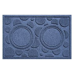 WaterGuard Dots Indoor Outdoor Dog Bowl Pet Mat - 18'' x 28''