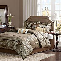 Madison Park 7-piece Venetian Jacquard Comforter Set
