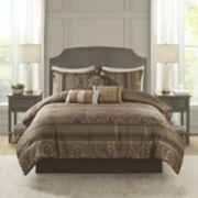 Madison Park 7-piece Venetian Jacquard Comforter Set
