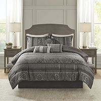 Madison Park 7 pc Venetian Jacquard Comforter Set
