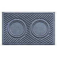 WaterGuard Wave Indoor Outdoor Dog Bowl Pet Mat - 18'' x 28''