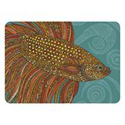 Bungalow Flooring Beta Fish Indoor Outdoor Comfort Mat - 22'' x 31''