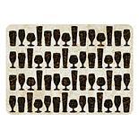 Bungalow Flooring Cheers for Beer Indoor Outdoor Comfort Mat - 22'' x 31''
