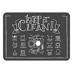Bungalow Flooring ''Keep It Clean'' Indoor Outdoor Comfort Mat - 22'' x 31''