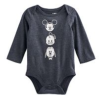 Disney's Mickey Mouse Baby Boy Mickey, Donald Duck & Pluto Bodysuit by Jumping Beans®