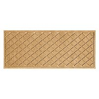 WaterGuard Argyle Lattice Indoor Outdoor Mat