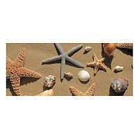 Bungalow Flooring Beachcomber Shells Indoor Outdoor Mat