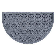 WaterGuard Ellipse Geometric Indoor Outdoor Mat - 24'' x 39''