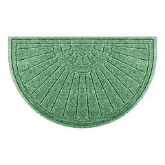 WaterGuard Sunburst Geometric Indoor Outdoor Mat - 24'' x 39''