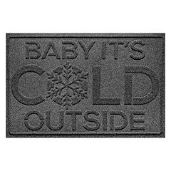 WaterGuard ''Baby it's Cold'' Indoor Outdoor Mat - 24'' x 36''