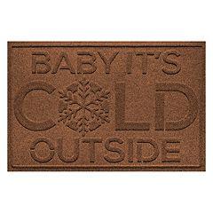 WaterGuard ''Baby it's Cold'' Indoor Outdoor Mat - 24'' x 36''