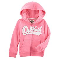 Toddler Girl OshKosh B'gosh® Logo Zip Hoodie
