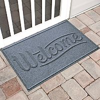 WaterGuard Simple ''Welcome'' Indoor Outdoor Mat - 24'' x 36''