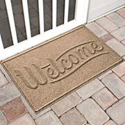 WaterGuard Simple ''Welcome'' Indoor Outdoor Mat - 24'' x 36''