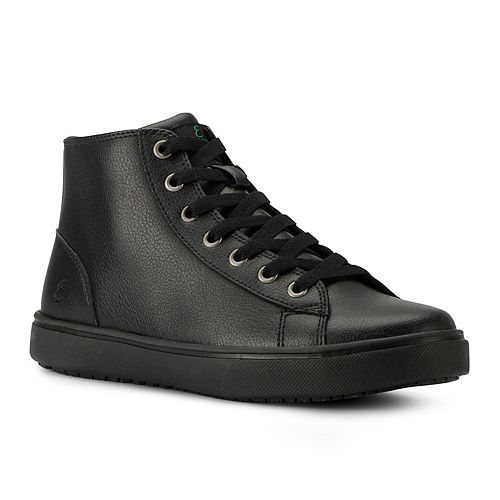 Emeril Read Women's Water Resistant Leather High Top Work Sneakers