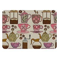 Bungalow Flooring Have Some Coffee Indoor Outdoor Mat - 24'' x 36''
