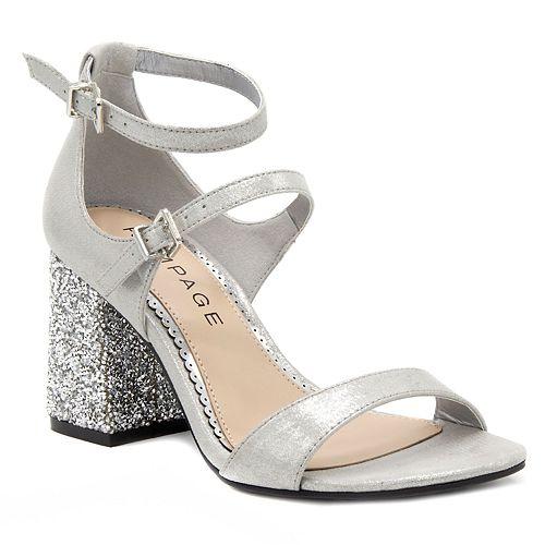 Rampage Nitsie Women's High ... Heel Sandals cheap enjoy ZAQKjow