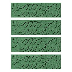 WaterGuard Brittany Leaf 4-pack Indoor Outdoor Stair Tread Set