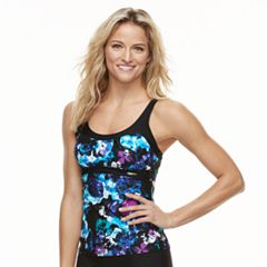 Women's ZeroXposur Floral Empire Tankini Top