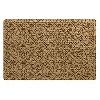 Bungalow Flooring Quasar Soft Impressions Geometric Indoor Outdoor Comfort Mat - 23'' x 36''