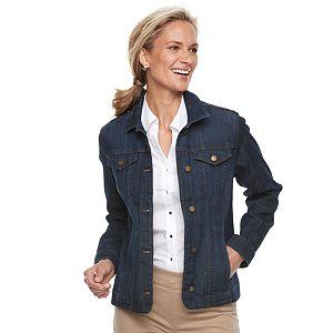 a785d9eb956 Juniors  Plus Size Mudd® Faded Core Denim Jacket