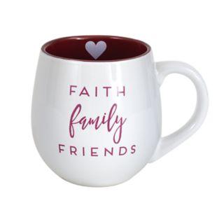 "Enchante ""Faith Family Friends"" Mug"