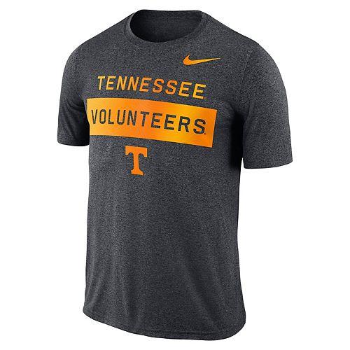 Men's Nike Dri-FIT Tennessee Volunteers Seismic Wordmark Tee
