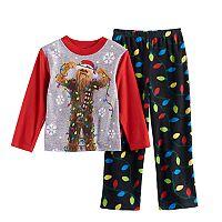 Boys 6-12 Star Wars Chewbacca 2-Piece Pajama Set