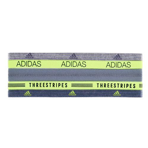 Women's adidas Creator Plus 5-pk. Three Stripes Headband Set