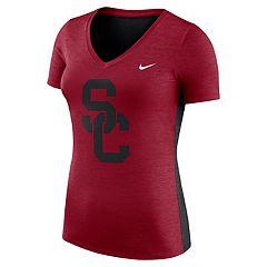 Women's Nike USC Trojans Dri-FIT Touch Tee