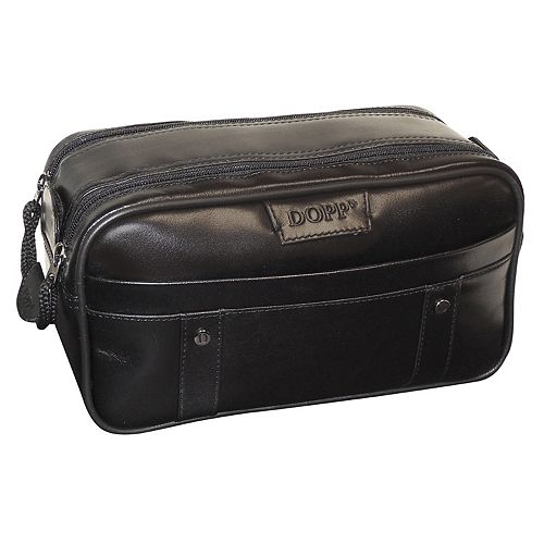 Men's DOPP Veneto Soft Sided Multi-Zip Travel Kit