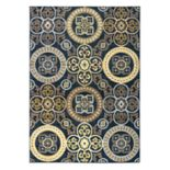 Rizzy Home Carrington Medallion Indoor Outdoor Rug