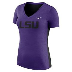 Women's Nike LSU Tigers Dri-FIT Touch Tee