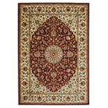 Rizzy Home Chateau Framed Floral Rug