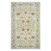 Rizzy Home Ashlyn Framed Floral I Wool Rug
