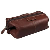 Men's DOPP Country Saddle Traditional Framed Travel Kit