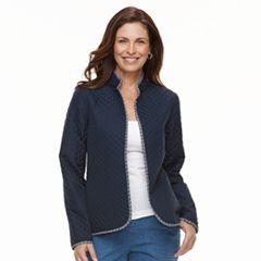 Women's Croft & Barrow® Quilted Reversible Jacket